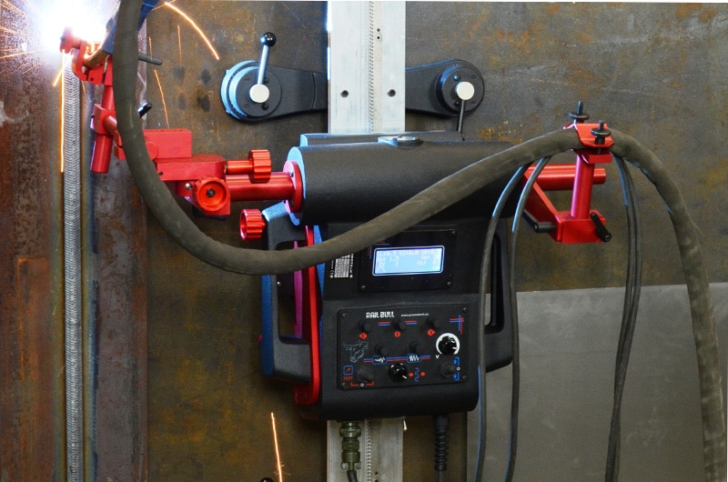 Rail Bull Welding Amp Cutting Track Carriage Promotech